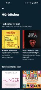Blinkist Hörbücher